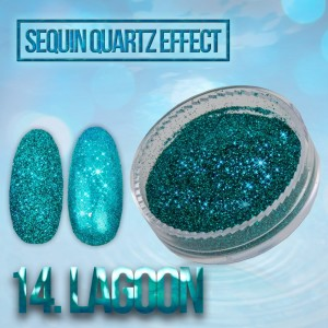 Sequin Quartz Effect Lagoon